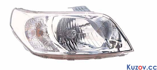 Фара Chevrolet Aveo T255 (08-12) правая (Depo) электрич. 235-1105RMLD-