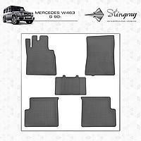 Автомобильные коврики Stingray Mercedes W463 G 1990-