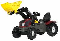 Трактор с ковшом Rolly Toys rollyFarmtrac Valtra T213
