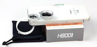 Набор линз (линзы) для макросъёмки на телефон Leiqi LQ-002