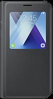 Чехол Samsung S View Standing Cover EF-CA720PBEGRU Black для Galaxy A7 (2017)