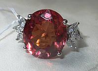 """Крупный перстень с султанитом и сапфирами  """"Крылатый"""", размер 18.5 от студии LadyStyle.Biz"""