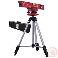 Уровень лазерный с подставкой и штативом INTERTOOL МТ-3007