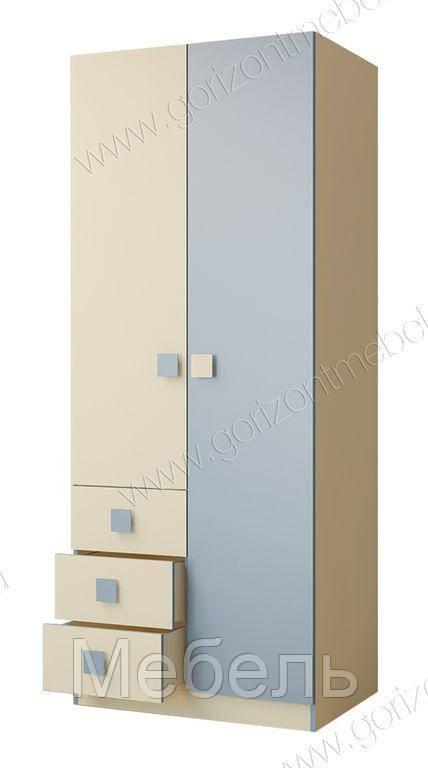 Шкаф 800 Радуга Горизонт 800*2000*546