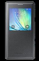 Чехол для Samsung A700 S View Cover Charcoal (EF-CA700BCEGRU)