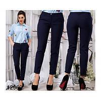 Женские классические укороченные брюки