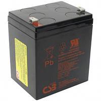 Батарея к ИБП CSB 12V, 5.0A  (тип полюсних выходов Т2)