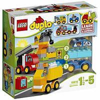 Конструктор Lego 10816Duplo Мои первые машинки My First Cars and Trucks, фото 1