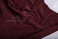 Замша одежная бордо