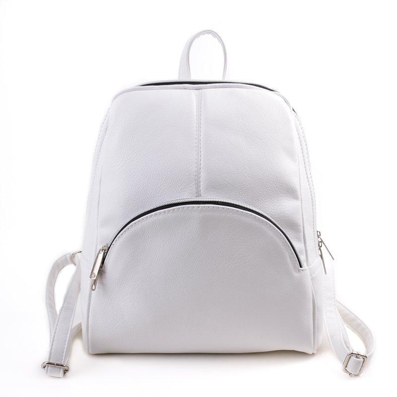 Рюкзак белый М134-17 средний женский городской  продажа, цена в ... b40d07e4589