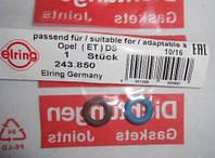 Кольцо (прокладка) уплотнительное форсунки (комплект - 2 шт) Elring 243.850