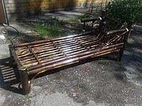 Шезлонг (лежак) из бамбука