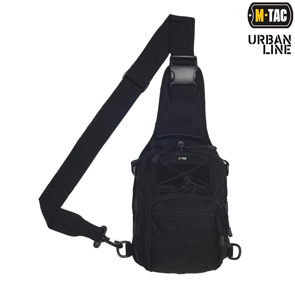 M-Tac сумка Urban Line City Patrol Fastex Bag, Black