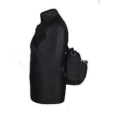 M-Tac сумка Urban Line City Patrol Fastex Bag, Black, фото 3