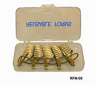 Форма для наращивания ногтей многоразовая, форма YRE RFM-00, материалы для наращивания ногтей