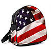Городской женский рюкзак с принтом Флаг Америки , фото 2