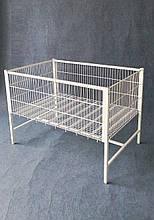 Акционный стол , корзина напольная 800х1200х850(h) разных размеров