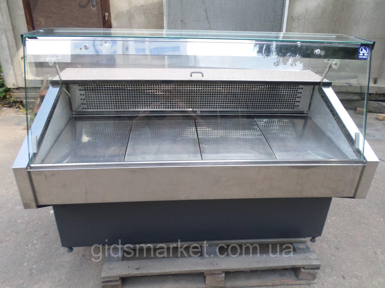 Холодильная витрина польская 120 см., 155 см. б у. Витрина холодильная б/у