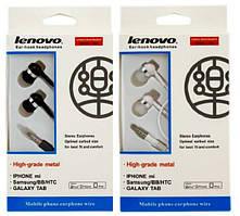 Наушники гарнитура Lenovo 204