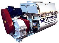 Двухвальный принудительный бетоносмеситель БП-2Г-1500 объем 1500 л