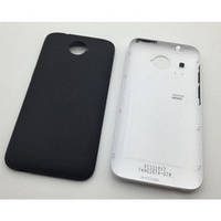 Задняя крышка для HTC Desire 601 с кнопками черная