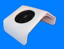 Вытяжка  маникюрная настольная пылесос 30 вт мощность , ЦВЕТ БЕЛЫЙ.