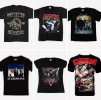 Футболки с рок символикой, игровые футболки