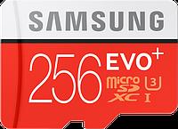 Карта памяти Samsung microSDXC 256GB EVO Plus Class 10 UHS-I U3 (MB-MC256DA/RU)