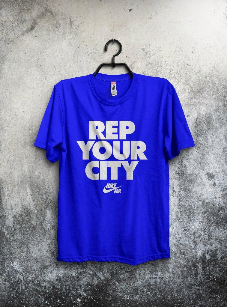 Футболка Nike Rep Your City (Найк Представитель Вашего города)