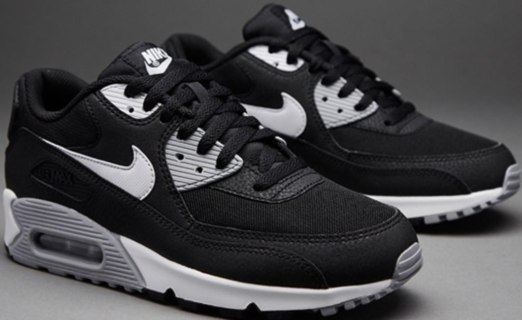 1f692466 Кроссовки найк мужские Nike Air Max 90 Essential Black/White/Wolf Grey от  tehnolyuks