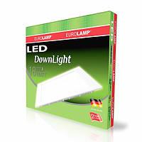 LED Светильник встр. EUROLAMP квадрат 18W 4000K 220V
