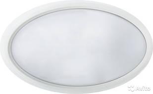 LED Светильник ЖКХ овал EUROLAMP 6W 4000K