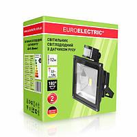 LED Прожектор с датчиком движения EUROELECTRIC 30W 6500K