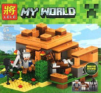 Конструктор Minecraft, Майнкрафт 33005  Крепость