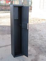 Сейф Оружейный СО 1400/2Т для хранения Двух Ружей высотой до 1380 мм с отделением для патронов