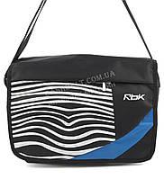 Спортивна чоловіча сумка бренд РБК art. 2145 чорна (101041) Україна, фото 1
