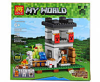 Конструктор Minecraft, Майнкрафт 33003  Крепость