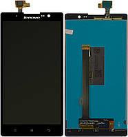 Дисплей (экран) для телефона Lenovo K80, K80M + Touchscreen Original Black