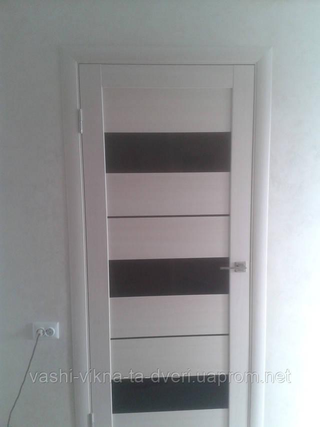 Двері соснові з екошпоном