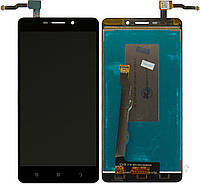 Дисплей (экран) для телефона Lenovo S8 A5500 + Touchscreen Original Black