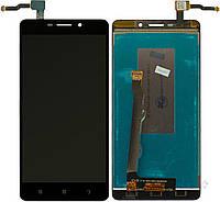 Дисплей (экран) для телефона Lenovo S8 A5500 + Touchscreen Black