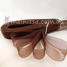 Регилин (кринолин), 30 мм, коричневый