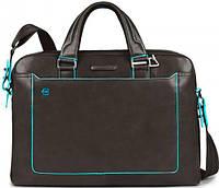 Надежный мужской портфель из натуральной кожи Piquadro BL SQUARE, CA3335B2_GR3 темно-серый