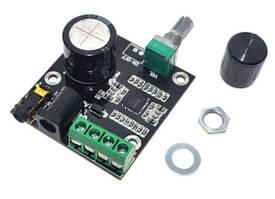 Аудио усилитель PAM8610 2х15Вт 7,5-15В стерео, плата