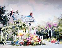 Рисование по номерам DIY Babylon Сказочный домик худ. Белл Марти (MS615) 40 х 50 см