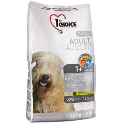 1st Choice (Фест Чойс) Hypoallergic гипоаллергенный корм для собак всех пород (утка и картошка), 2.7 кг