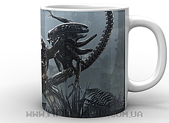 Кружка Aliens  predator