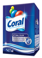 CORAL порошок для стирки цветного белья Optimal Color (18 стирок 837 гр)