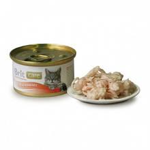 Brit Care (Брит кеа) Куриная грудка и сыр консервы суперпремиум класса для кошек