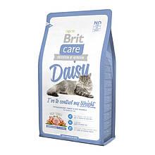 Brit Care (Брит кеа) Cat Daisy корм с индейкой и рисом для кошек с избыточным весом, 7 кг